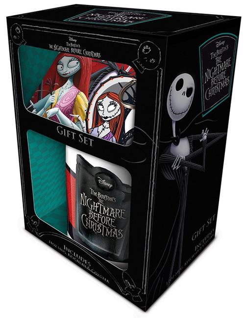 Nightmare Before Christmas Mug, Coaster And Keychain