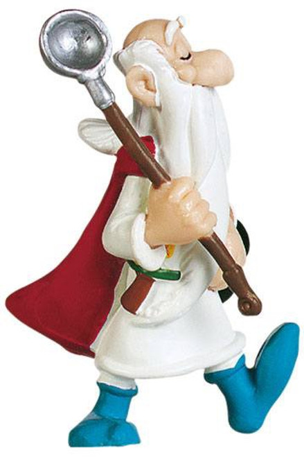 Asterix Figure Getafix with the pot 8 cm