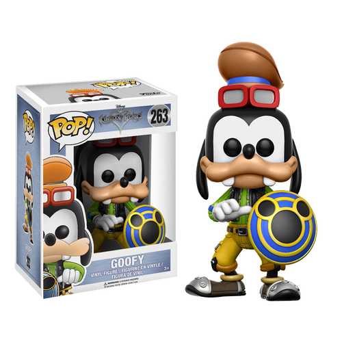 Funko POP! Vinyl: Kingdom Hearts Goofy #263