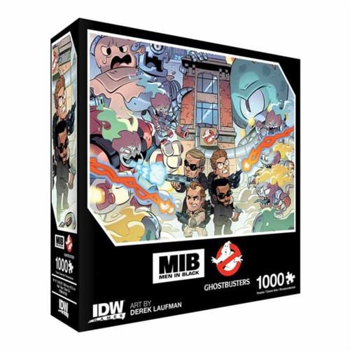 Men In Black/Ghostbusters: Ecto-terrestrial Invasion Premium Puzzle : 1000 piece