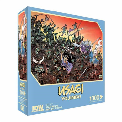 Usagi Yojimbo: Traitors of the Earth Premium Puzzle : 1000 piece