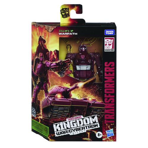 Transformers War For Cybertron: Kingdom Deluxe Warpath