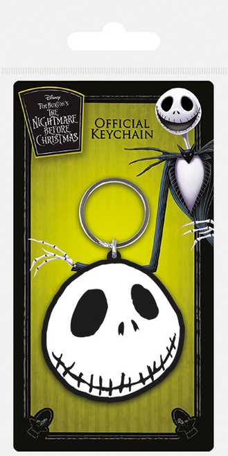 Nightmare Before Christmas (Jack) Rubber Keychain