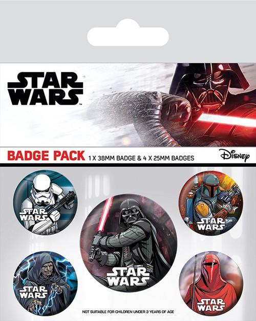 Star Wars (Dark Side) Badge Pack