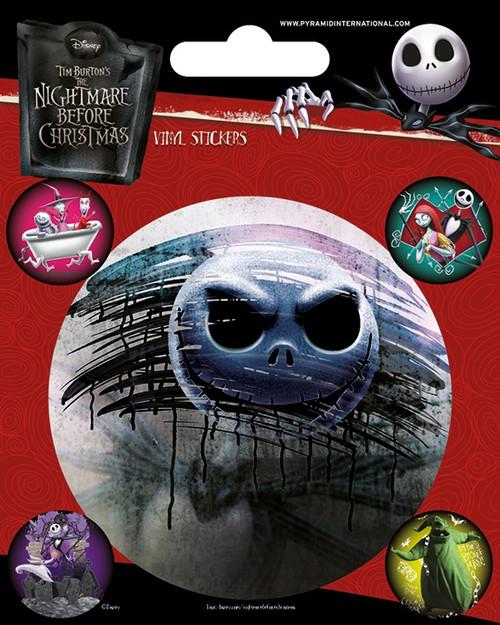 Nightmare Before Christmas (Characters) Vinyl Sticker Pack