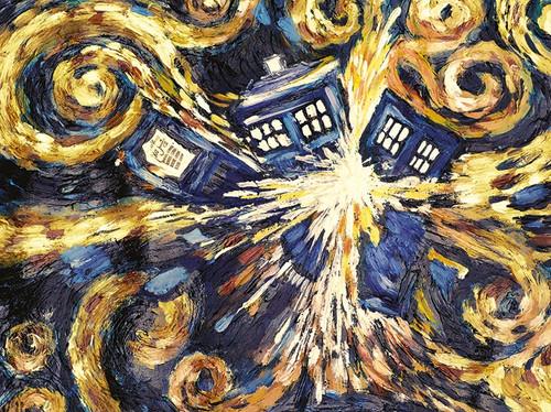 Doctor Who (Exploding Tardis)  3D Lenticular Poster