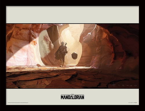 Star Wars: The Mandalorian (Journey) Framed 30 x 40cm Print