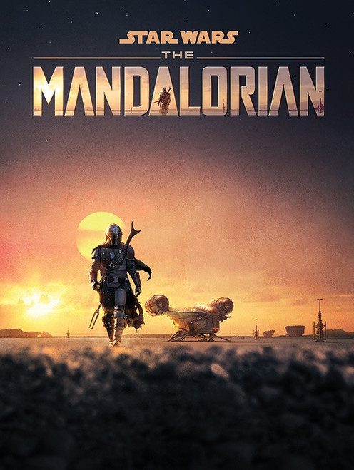 Star Wars: The Mandalorian (Dusk) Canvas Print