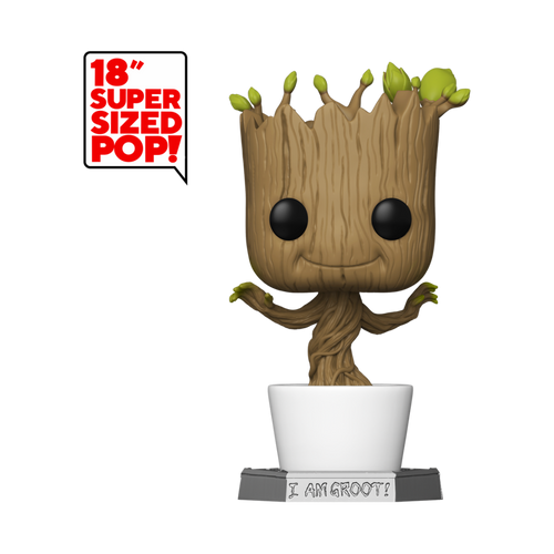 "Funko POP! Vinyl: Marvel: Guardians of the Galaxy - 18"" Groot #1"