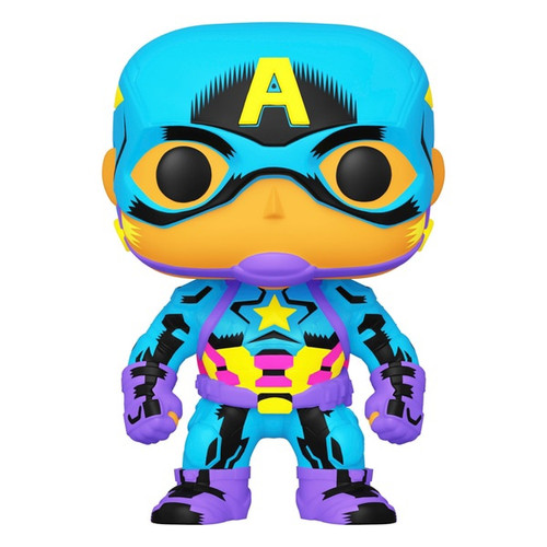 Funko POP! Vinyl: Black Light: Captain America #648