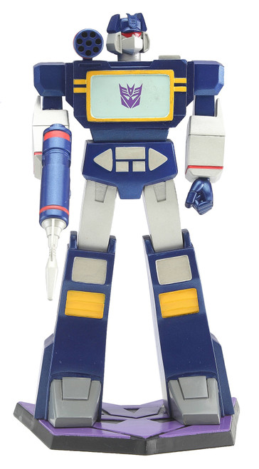 Transformers Soundwave 9In Pvc Statue