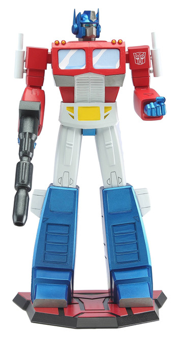 Transformers Optimus Prime 9In Pvc Statue
