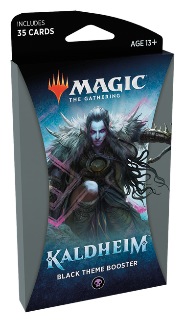MTG: Kaldheim Black Theme Booster