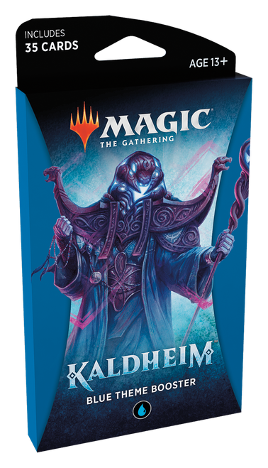 MTG: Kaldheim Blue Theme Booster