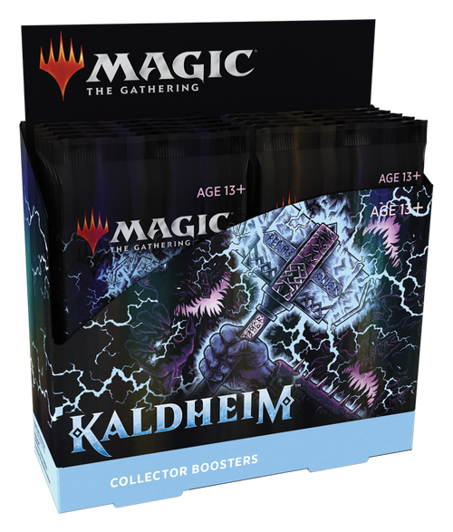MTG: Kaldheim Collector Boosters (Sealed Box of 12)