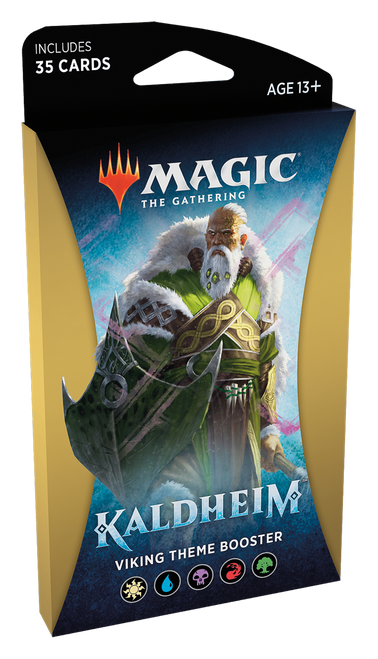 MTG: Kaldheim Gold Theme Booster