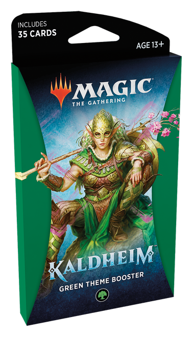 MTG: Kaldheim Green Theme Booster