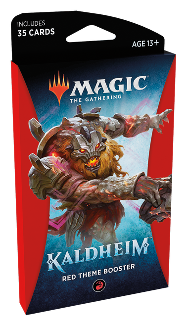 MTG: Kaldheim Red Theme Booster