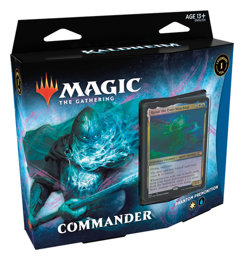 MTG: Kaldheim - Phantom's Premonition White/Blue Commander Deck