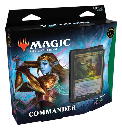 MTG: Kaldheim - Elven Empire Black/Green Commander Deck
