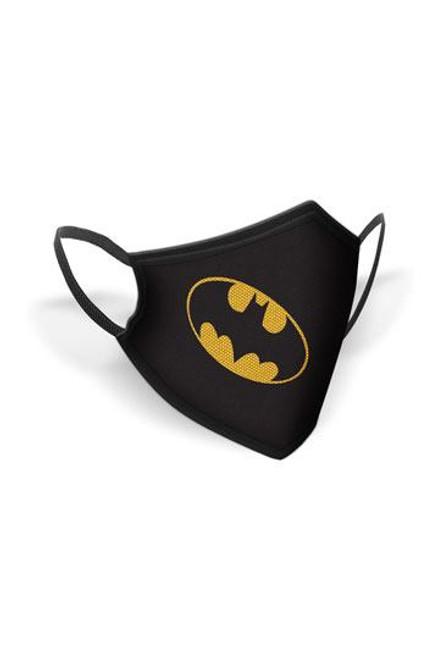 Batman Face Masks Logo