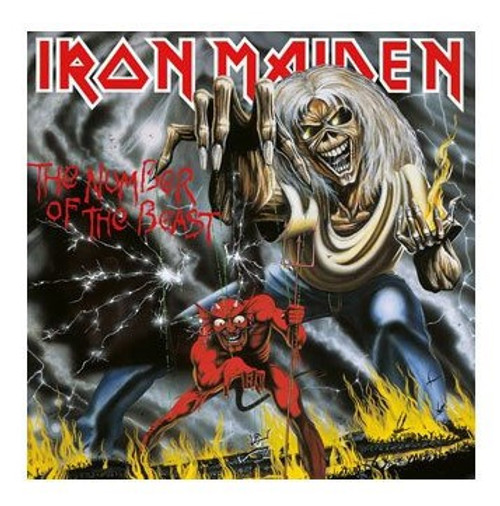 Iron Maiden Rock Saws Jigsaw Puzzle The Number Of The Beast (1000 pieces)