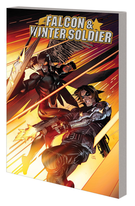 Falcon And Winter Soldier Graphic Novel Cut Off One Head
