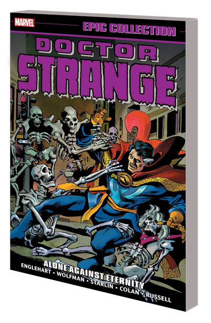 Doctor Strange Epic Collection Graphic Novel Alone Against Eternity