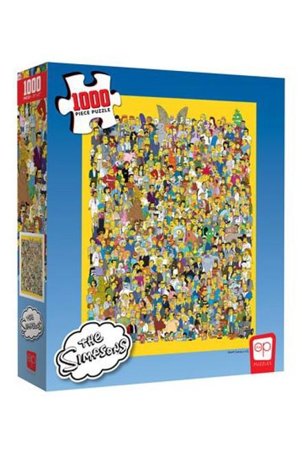 Simpsons Jigsaw Puzzle Cast of Thousands (1000 pieces)