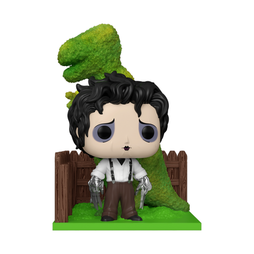 Funko POP! Vinyl: Edward Scissorhands - Edward & Dino Hedge #985