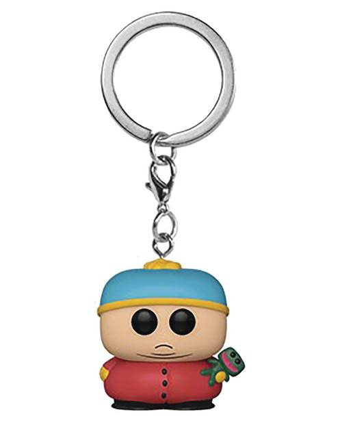 Pocket Pop South Park Cartman With Clyde Keychain