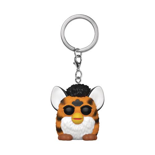Pocket Pop Hasbro Tiger Furby Keychain