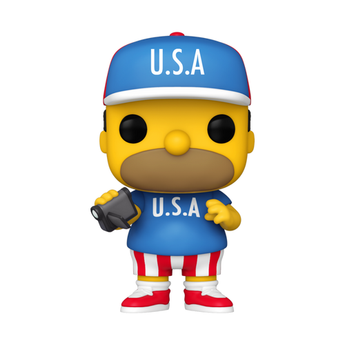 Funko POP! Vinyl: Simpsons - USA Homer