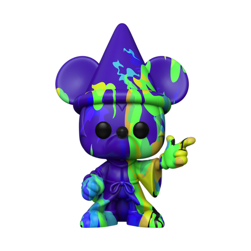 Funko POP! Vinyl: Fantasia 80th - Sorceror Mickey #15 (Artist Series) with Pop Protector
