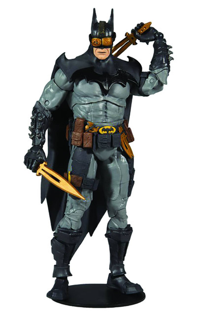 "Dc Multiverse 7"" Scale Mcfarlane Batman Collector Action Figure"