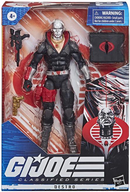 "Gi Joe Classified Series 6"" Destro Action Figure"