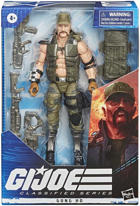 "Gi Joe Classified Series 6"" Gung-Ho Action Figure"