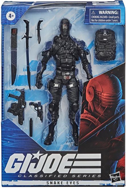 "Gi Joe Classified Series 6"" Snake-Eyes Action Figure"