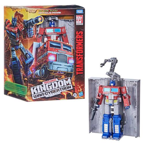 Transformers War Cybertron Kingdom Leader Optimus Prime