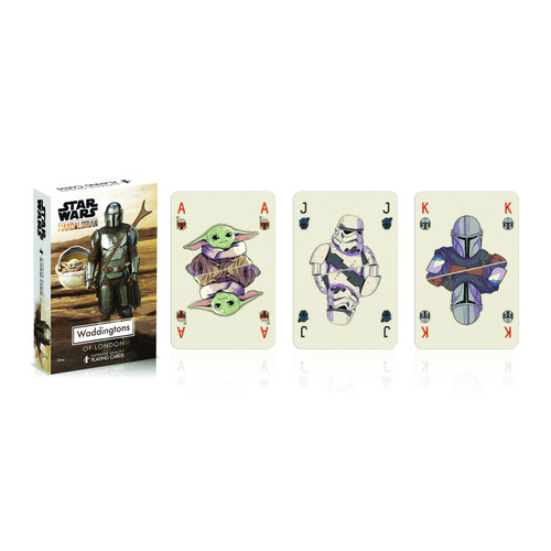 Star Wars The Mandalorian Playing Cards