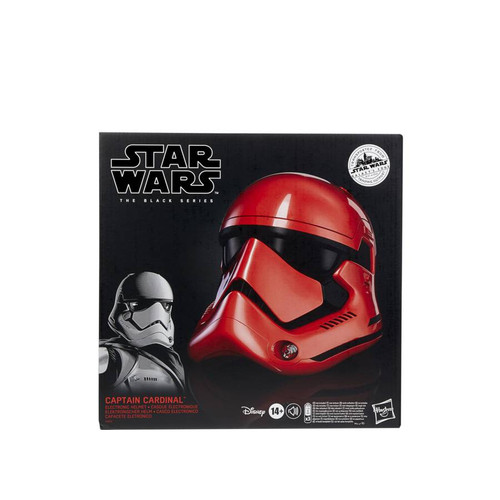 Star Wars Galaxys Edge Capt Cardinal Red Helmet