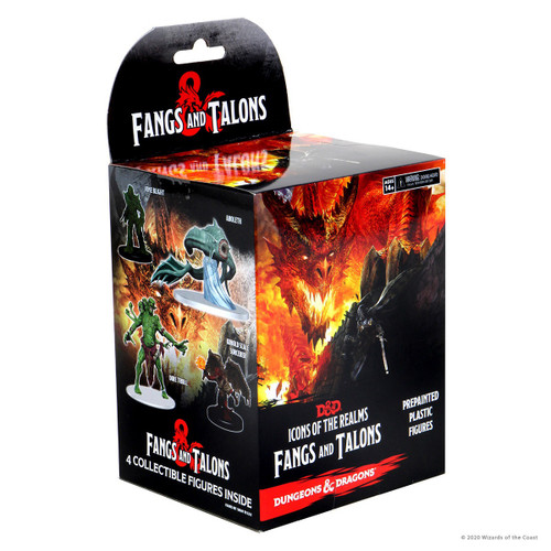 D&D Icons of the Realms Miniatures: Fangs and Talons (PRE-ORDER - released 12/02/21)