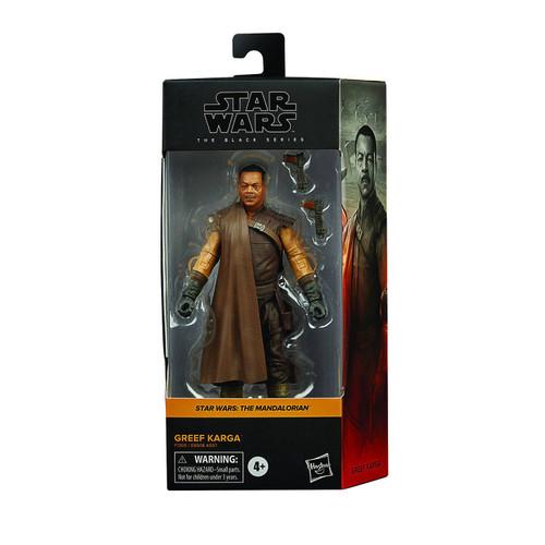"Star Wars Black Series 6"" Greef Karga Action Figure"