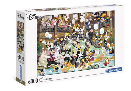 Disney Masterpiece Jigsaw Puzzle Character Gala (6000 pieces)
