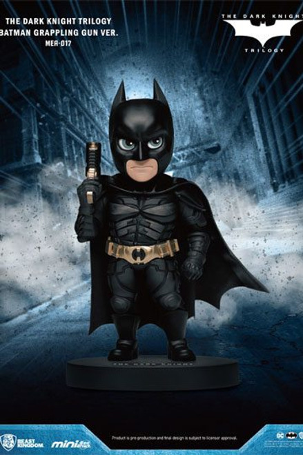 Dark Knight Trilogy Mini Egg Attack Figure Batman Grappling Gun Version. 8 cm