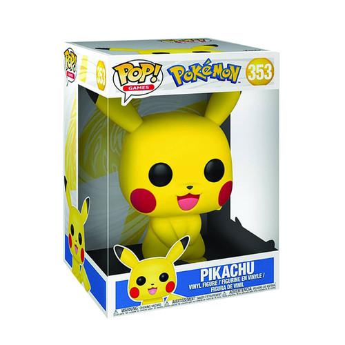 """Funko POP! Vinyl: Pokemon - Pikachu 10"""" #353"""