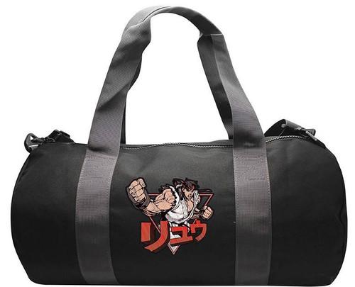 Street Fighter Ryu Grey/Black Sports Bag