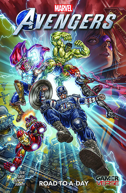 Marvels Avengers Road To A-Day Gamerverse