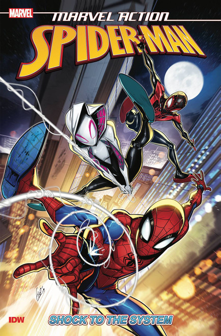 Marvel Action Spider-Man Shock To The System