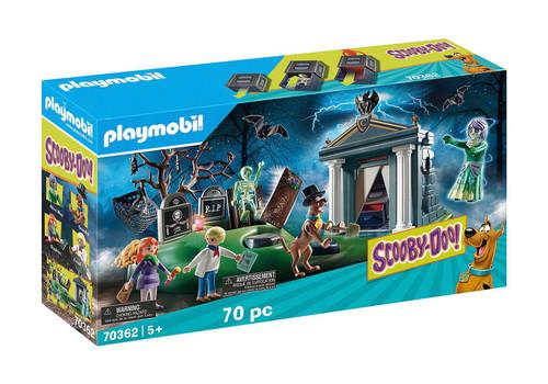 Playmobil Scooby Doo! Adventure On The Cemetery